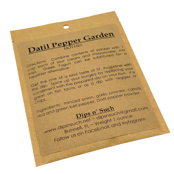 DATIL PEPPER GARDEN DIP