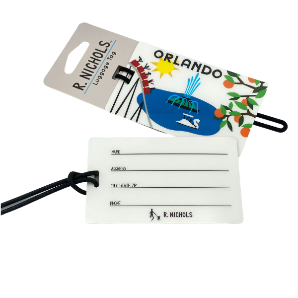 LUGGAGE TAG - ORLANDO