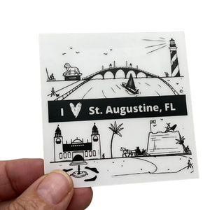 STICKER - ST. AUGUSTINE, FLORIDA
