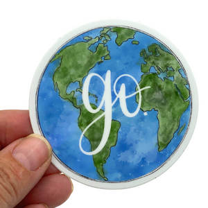 STICKER - GO GLOBE