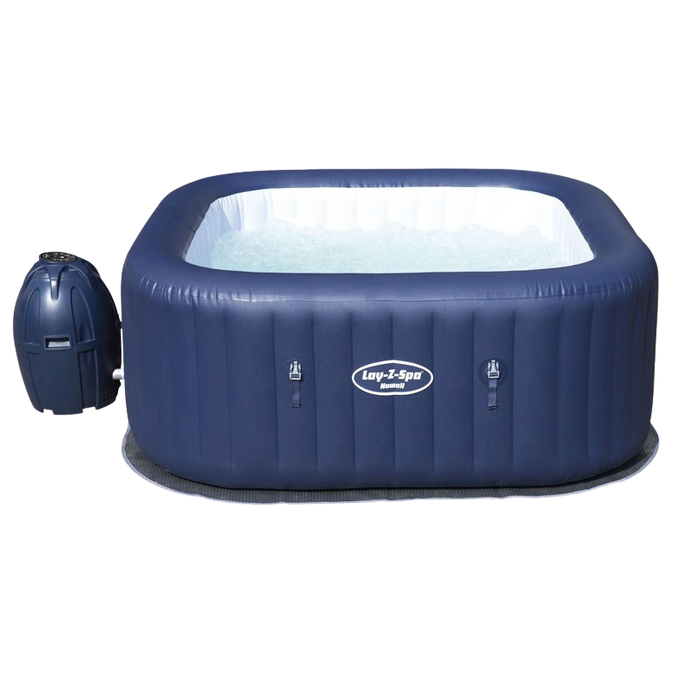 Lay-Z-Spa Hawaii AirJet 54154 Inflatable Hot Tub Spa by Bestway 1