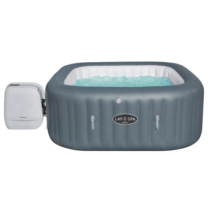 Lay-Z-Spa Hawaii HydroJet Pro (2021) 60031 Inflatable Hot Tub Spa by Bestway 1