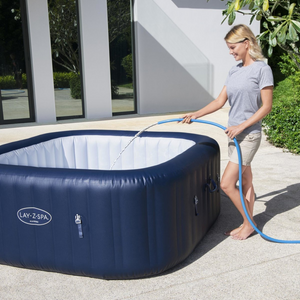 Lay-Z-Spa Hawaii (2021) AirJet 60021 Inflatable Hot Tub Spa by Bestway 10