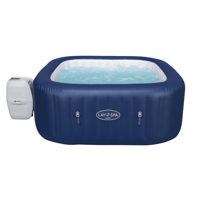 Lay-Z-Spa Hawaii (2021) AirJet 60021 Inflatable Hot Tub Spa by Bestway 1