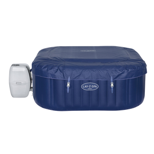 Lay-Z-Spa Hawaii (2021) AirJet 60021 Inflatable Hot Tub Spa by Bestway 2