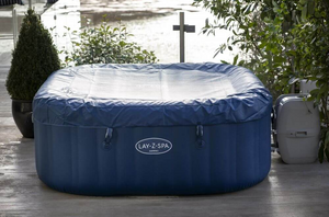 Lay-Z-Spa Hawaii (2021) AirJet 60021 Inflatable Hot Tub Spa by Bestway 4