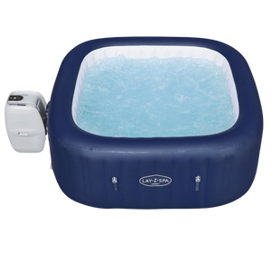 Lay-Z-Spa Hawaii (2021) AirJet 60021 Inflatable Hot Tub Spa by Bestway 8