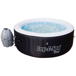 Lay-Z-Spa Miami AirJet 54123 Inflatable Hot Tub Spa by Bestway 1