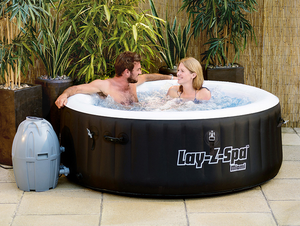 Lay-Z-Spa Miami AirJet 54123 Inflatable Hot Tub Spa by Bestway 5