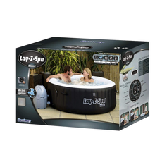 Load image into Gallery viewer, Lay-Z-Spa Miami AirJet 54123 Inflatable Hot Tub Spa by Bestway Box