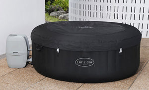 Lay-Z-Spa Miami (2021) AirJet 60001 Inflatable Hot Tub Spa by Bestway 10