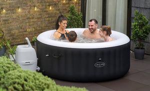 Lay-Z-Spa Miami (2021) AirJet 60001 Inflatable Hot Tub Spa by Bestway 4