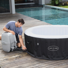 Load image into Gallery viewer, Lay-Z-Spa Miami (2021) AirJet 60001 Inflatable Hot Tub Spa by Bestway 5