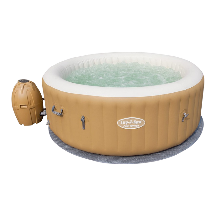Lay-Z-Spa Palm Springs AirJet 54154 Inflatable Hot Tub Spa by Bestway 1