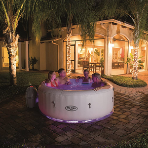 Lay-Z-Spa Paris AirJet 54148 Inflatable Hot Tub Spa by Bestway 7