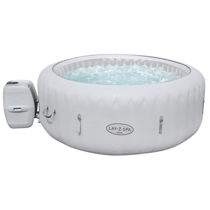 Lay-Z-Spa Paris (2021) AirJet 60013 Inflatable Hot Tub Spa by Bestway 1