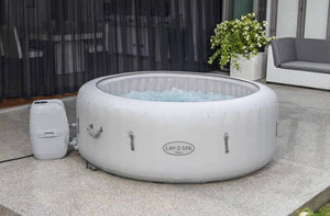Lay-Z-Spa Paris (2021) AirJet 60013 Inflatable Hot Tub Spa by Bestway 4
