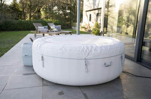 Lay-Z-Spa Paris (2021) AirJet 60013 Inflatable Hot Tub Spa by Bestway 6