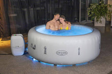 Load image into Gallery viewer, Lay-Z-Spa Paris (2021) AirJet 60013 Inflatable Hot Tub Spa by Bestway with People 4
