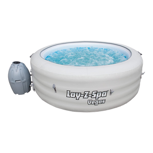 Lay-Z-Spa Vegas AirJet 54112 Inflatable Hot Tub Spa by Bestway 1