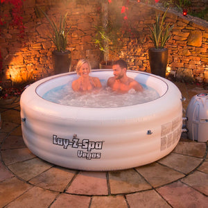 Lay-Z-Spa Vegas AirJet 54112 Inflatable Hot Tub Spa by Bestway 3