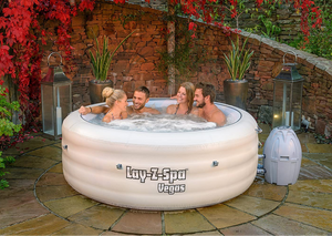 Lay-Z-Spa Vegas AirJet 54112 Inflatable Hot Tub Spa by Bestway 4