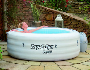 Lay-Z-Spa Vegas AirJet 54112 Inflatable Hot Tub Spa by Bestway 6