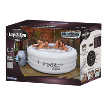 Load image into Gallery viewer, Lay-Z-Spa Vegas AirJet 54112 Inflatable Hot Tub Spa by Bestway Box