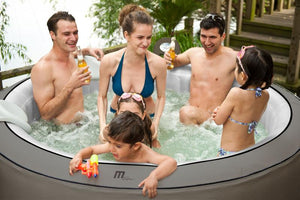 Mspa B140 Elegance Inflatable Hot Tub Spa 9