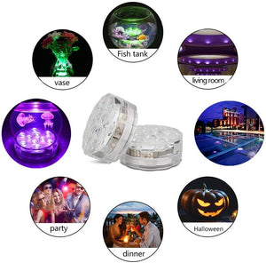 Underwater Waterproof LED Light for Hot Tubs and Swimming Pools
