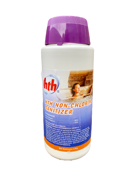 HTH Non-Chlorine Water Sanitising Solution (2kg)