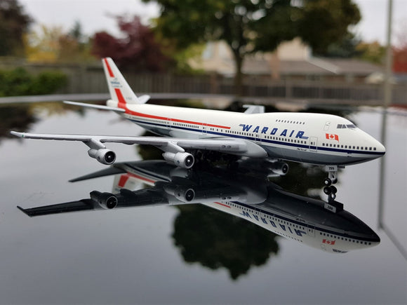 Wardair Canada Boeing 747 -- 1:500 by Herpa