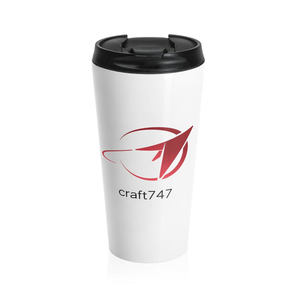 craft747 - Stainless Steel Travel Mug