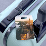 CN Tower Sunset Bag Tag