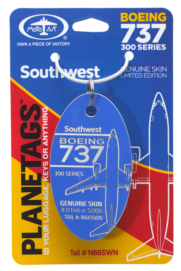 Southwest Boeing 737 - Tail# N665WN - craft747