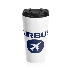 AIRBUS Logo Stainless Steel Travel Mug