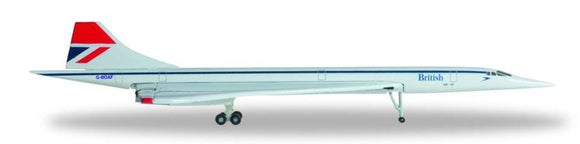 British Airways Concorde -- 1:500 by Herpa - craft747