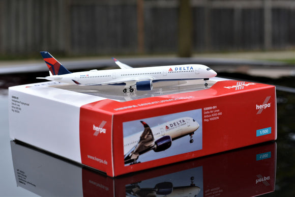 Delta Airlines Airbus A350-900 XWB -- 1:500 by Herpa