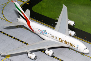 "Emirates Airbus A380 ""England Rugby World Cup"" -- 1:200 by Gemini Jets"