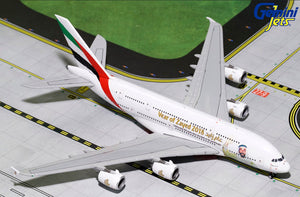"Emirates Airbus A380 ""Year of Zayed"" -- 1:400 by Gemini Jet"
