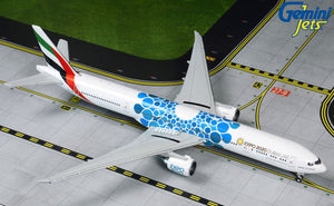 "Emirates Airbus A380 ""Blue Expo 2020"" -- 1:400 by Gemini Jets"
