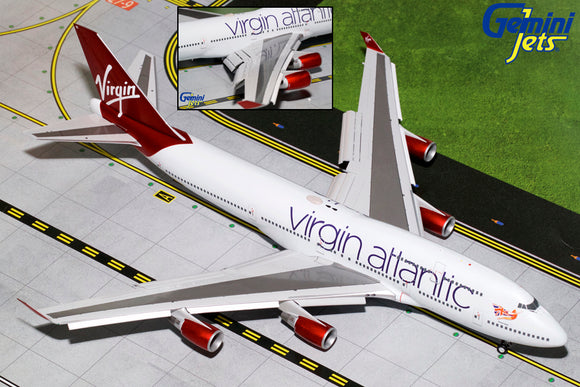 Virgin Atlantic B747-400 -- 1:200 by Gemini Jets *Premium Edition* - craft747