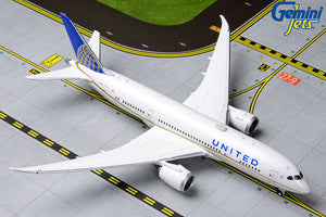 United Airline B787-8 -- 1:400 by Gemini Jets