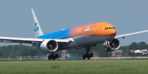"KLM Boeing 777-300ER ""Orange Pride"" -- 1:200 by Herpa"