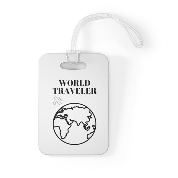 World Traveller Bag Tag