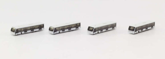 Airport Bus Set 4-in-1 Set -- 1:500 by Herpa