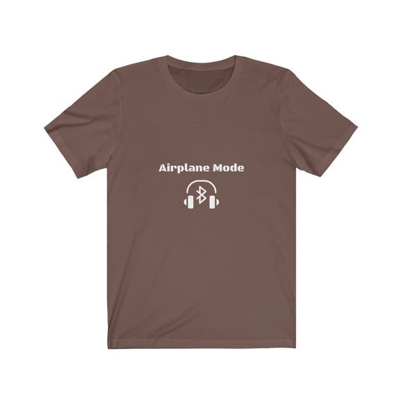 Airplane Mode - Unisex Jersey Short Sleeve Tee