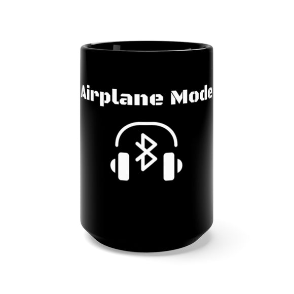Airplane Mode - Black Mug