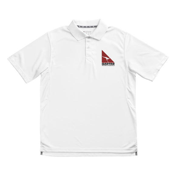 Men's Champion Polo - Qantas White - craft747
