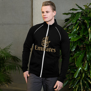 Piped Fleece Jacket - Emirates Gold - craft747